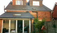 Rear dormer & extension